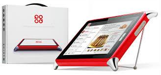 tablette tactile cuisine qooq tablet la cuisine tactile et facile abricocotier fr