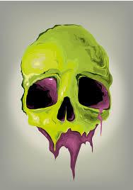 vector skull by phsdesign skull duggery draw and