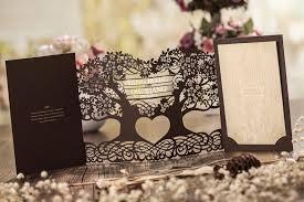 3d wedding invitations 3d magic tree wedding invitation card laser cut cw5023 view 3d