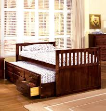 furniture of america batesville cherry captain twin bed with