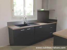cuisine gris foncé plan de travail cuisine gris anthracite la couleur anthracite
