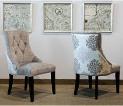Dining Room Wingback Chairs Selecting Dining Chair For Glam Dining Room
