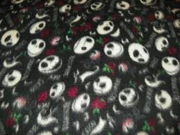 nightmare before fleece fabric by the yard the darkside