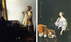 vermeer pearl necklace vermeer and the masters of genre painting iema