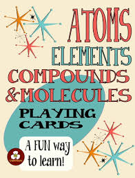64 playing cards to practice basic chemistry vocabulary with