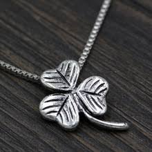 s day charm necklace online get cheap shamrock pendant aliexpress alibaba