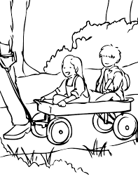 wagon free coloring pages on art coloring pages