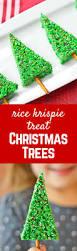 easy christmas tree rice krispie treats rachel cooks