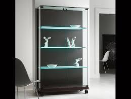 nella vetrina tonelli medora white modern italian glass bookcase