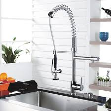 kraus pull out kitchen faucet kraus single lever pull out kitchen faucet home design