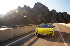 flat out magazine test drives mclaren 570s spider review flat