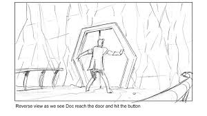 bbc one storyboard artwork doctor who series 7 part 2