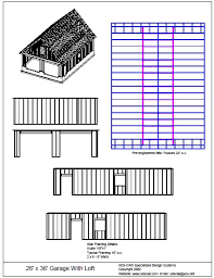 The G442 50x30x12 Garage Plans Free House Plan Reviews by Free Download 26 U2032 X 36 U2032 Garage With Loft Free House Plan Reviews