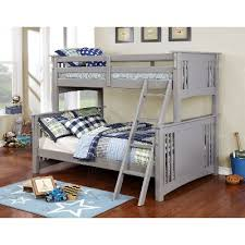 Gray TwinoverFull Bunk Bed Spring Creek RC Willey Furniture - Furniture bunk beds