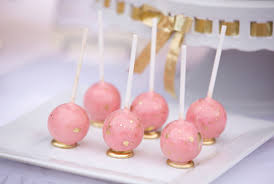 Pink And Gold Dessert Table by This Bridal Shower Marries Pretty Pink With Glitzy Gold Evite