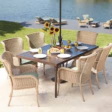 Patio Furniture At Home Depot - hampton bay belcourt 5 piece metal patio fire pit conversation set