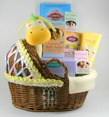 Gifts For New Moms by After Pregnancy New Mom Care Package With Hand Decorated Bassinet