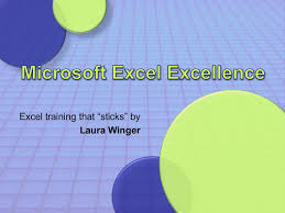 excel excellence microsoft excel training that