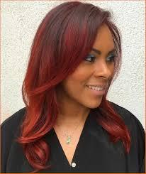 burgundy hair color idea for black women 2018 stylish look
