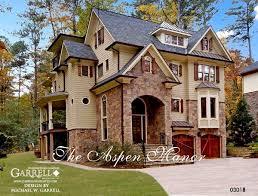 european style houses garrell associates inc aspen manor 03018 front elevation
