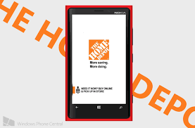 The Home Technology Store The Home Depot App For Windows Phone Update With Voice Search And