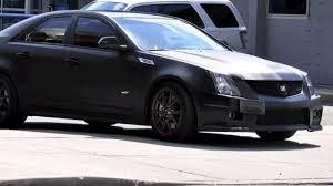 matte black cadillac cts v ctsv matte black exhaust