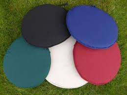 Round Outdoor Bistro Chair Cushions by Round Chair Pads Modern Chairs Quality Interior 2017