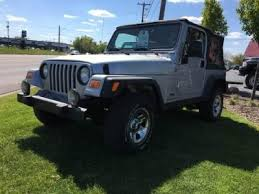 cheap used jeep wranglers cheap used jeep wrangler for sale in henderson mi cars com