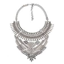 big statement necklace images Big choker statement necklace courbee boutique jpg