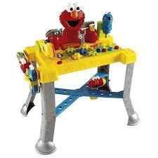 Childrens Work Benches Amazon Com Sesame Street Sing N U0027 Giggle Tool Bench Toys U0026 Games
