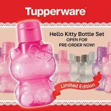 tupperware kitty eco bottle carousell
