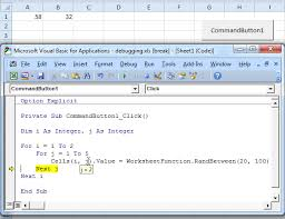 visual basic for loop debugging in excel vba easy excel macros