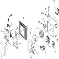 broan exhaust fan cover broan 678 parts list and diagram ereplacementparts com