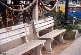 Vineyard Bench Shawnee Park Benches By American Concrete Industries Of Auburn