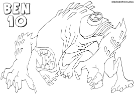 ben 10 coloring pages coloring pages download print