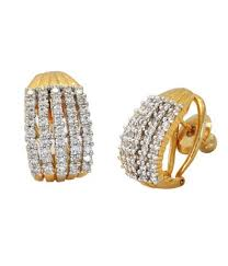 diamond earrings online buy designer american diamond earrings online