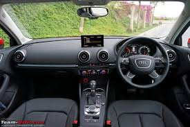 Audi S3 Interior For Sale Audi A3 Official Review Team Bhp
