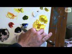 how to mix colors with oil paint rookie painter pinterest