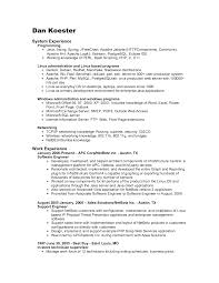 Example Resume Pdf by Resume Format For Freshers It In Pdf