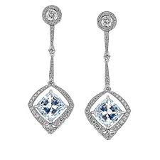 gold and diamond earrings gold diamond source 18k white gold 5 49ctw diamond stud