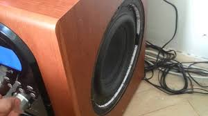inflatable home theater system genius home theater sw hf 5 1 6000 subwoofer test youtube