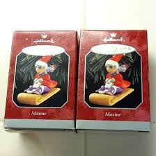 lot of 5 maxine hallmark ornaments nib mint oss 250941052