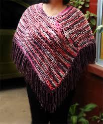 ponchos a palillo poncho matizado tejido con palillos poncho dos agujas knit
