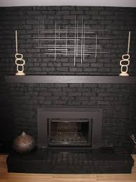fireplace painted black this is what mine will look like in a