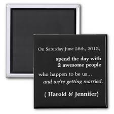 cheap save the date magnets save the date refrigerator magnets zazzle