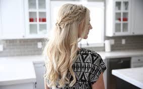 cute girl hairstyles diy half up side braid diy cute girls hairstyles youtube