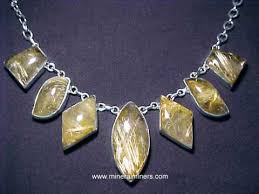 gold quartz necklace images Rutilated quartz cabochon gemstones golden rutile star gems jpg