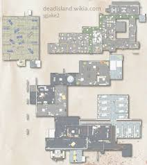Police Station Floor Plan Police Station Map Large Dead Island Wiki Fandom Powered By Wikia