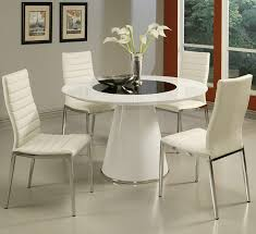 Glass Circular Dining Table Dining Room Sets Circular Dining Table White Dining Room