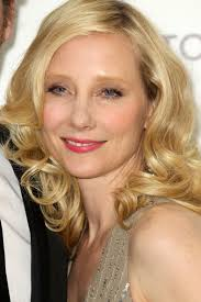 anne heche short hair trendy spiral curls hairstyles with blonde hair color for women